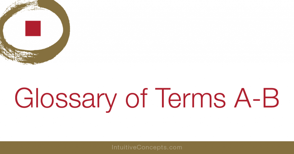 Feng Shui Glossary of terms A-B