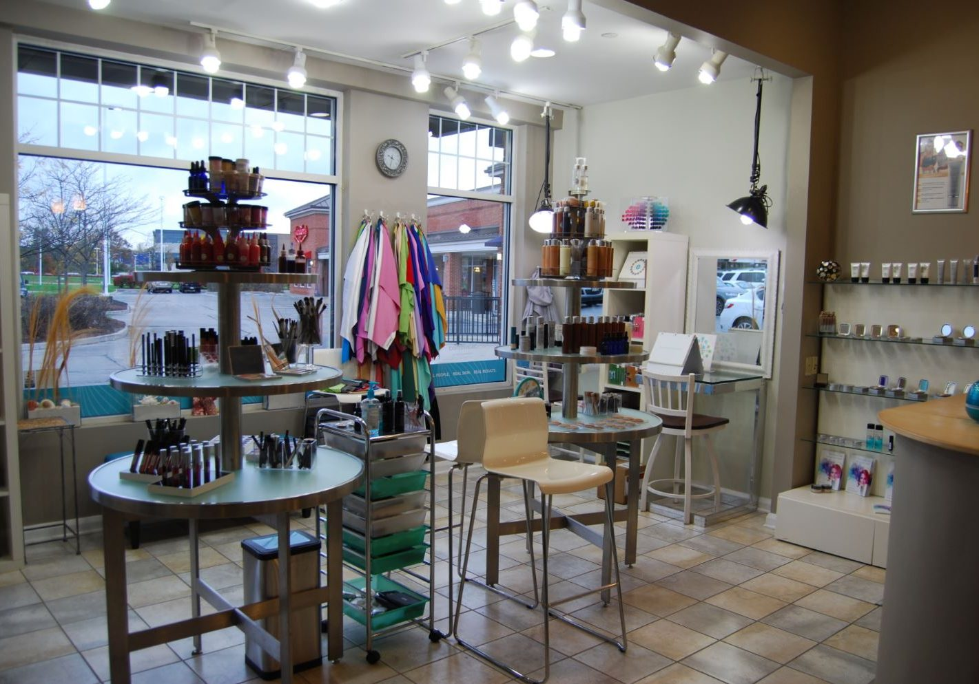 Skin Perfect Spa Makeup Area After