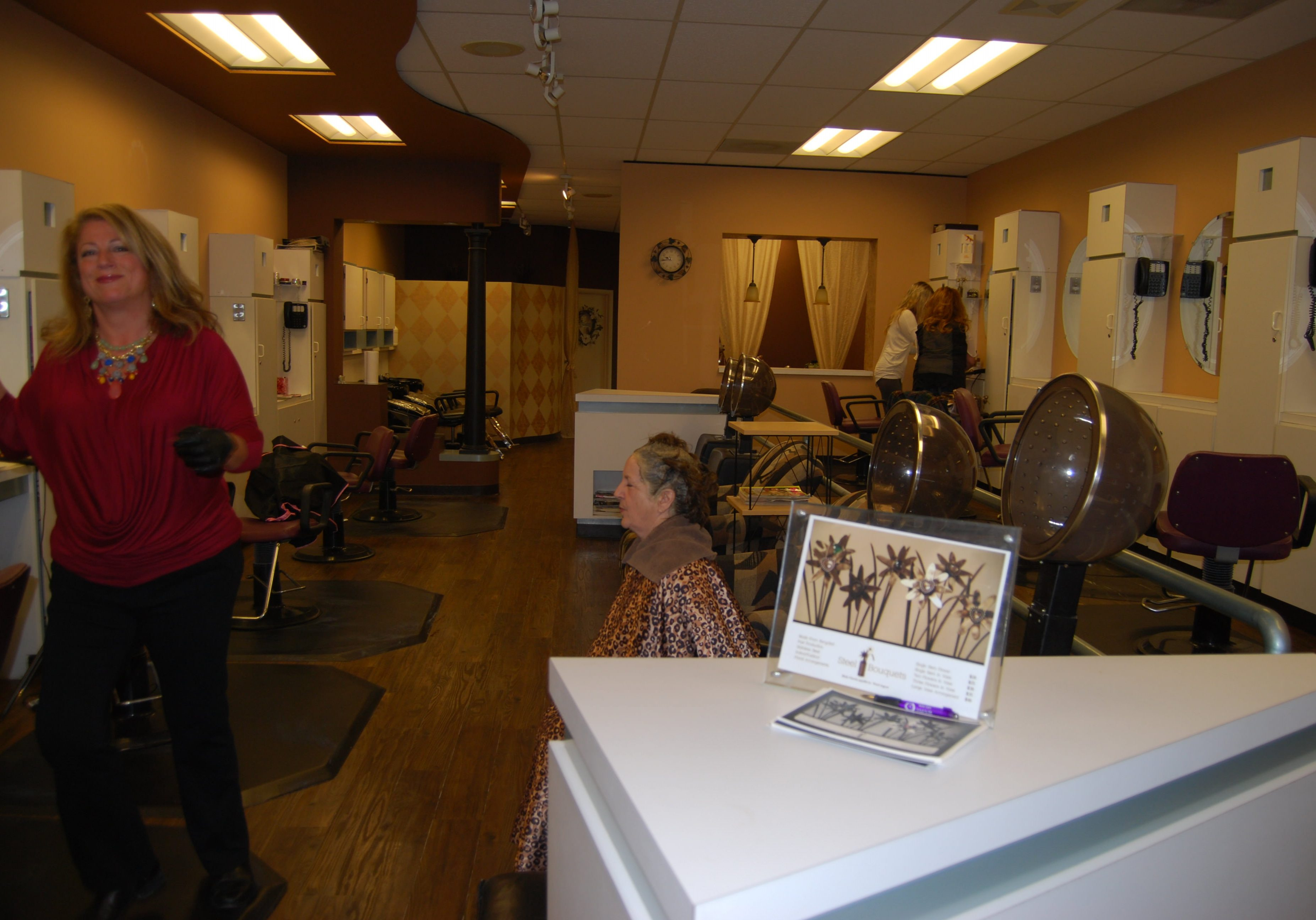 Skin Perfect Studio Hair Stations Before